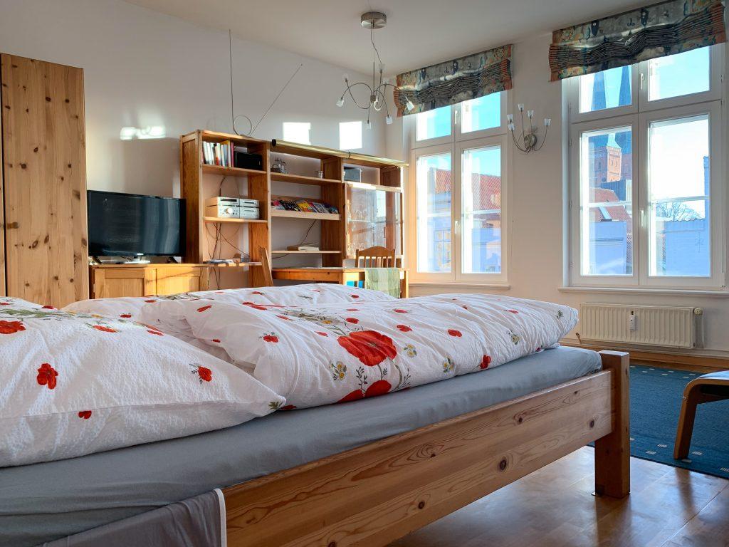 Appartement Domblick Wohnraum